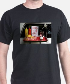 Unique American diner T-Shirt