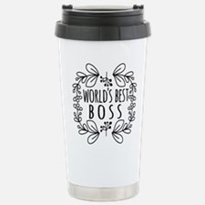 Cute Black World's Best Travel Mug