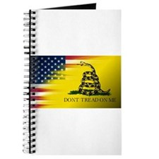 American Flag/Don't tread on Me Journal