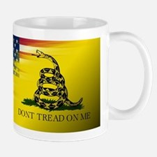 American Flag/Don't tread on Me Mugs