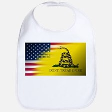 American Flag/Don't tread on Me Bib