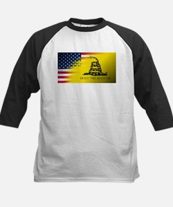 American Flag/Don't tread on Me Baseball Jersey