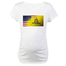 American Flag/Don't tread on Me Shirt