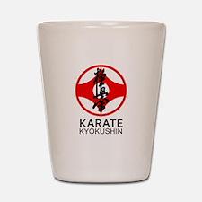 Kyokushin Karate Symbol and Kanji Shot Glass
