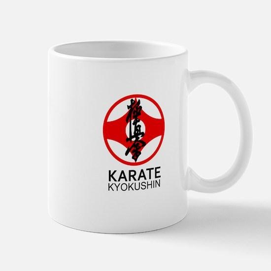 Kyokushin Karate Symbol and Kanji Mugs