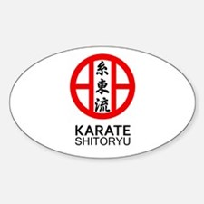 Shitoryu Karate Symbol and Kanji Decal