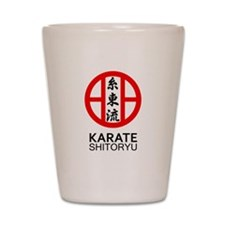 Shitoryu Karate Symbol and Kanji Shot Glass