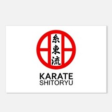 Shitoryu Karate Symbol an Postcards (Package of 8)
