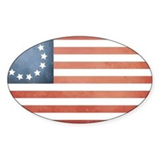 Colonial Flag Decal