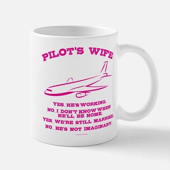 Pilot's Wife Humor Mugs