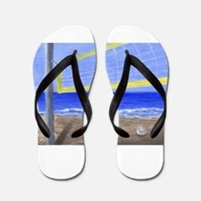 Beach Volleyball Flip Flops