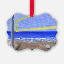Beach Volleyball Ornament