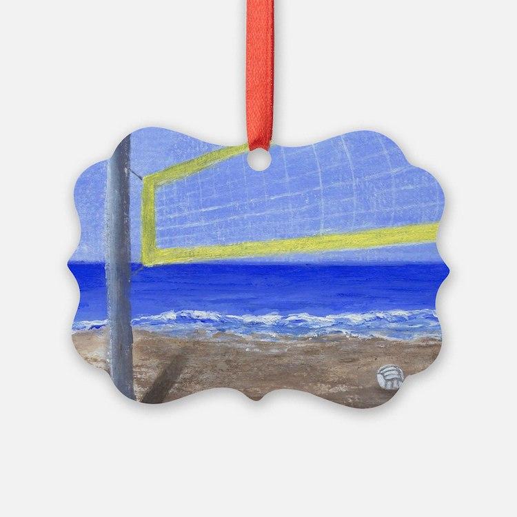 Beach Volleyball Ornament