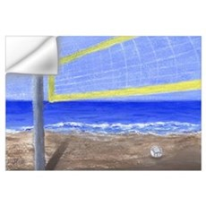 Beach Volleyball Wall Decal