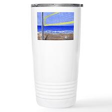 Beach Volleyball Travel Mug
