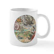 Vintage Victorian Beach Retro Summer Mug