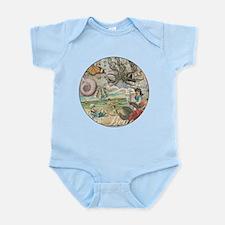 Vintage Victorian Beach Retro Summ Infant Bodysuit