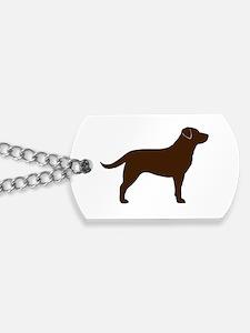 Chocolate Lab Dog Tags