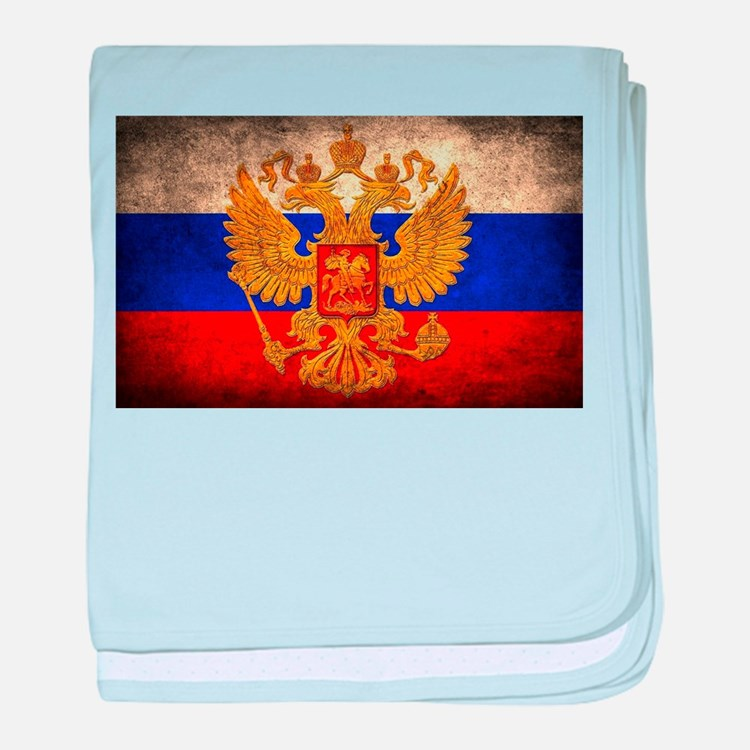 Russia baby blanket