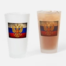 Russia Drinking Glass