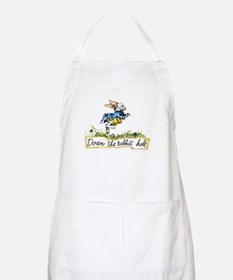 Alice and the White Rabbit Apron
