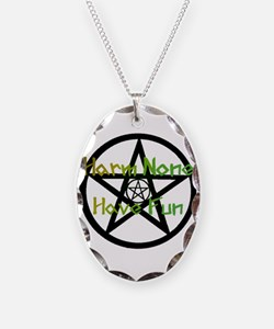 Harm None Earth Necklace