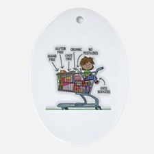 Gluten Free Oval Ornament
