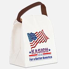 Kasich 2016 Better America Canvas Lunch Bag