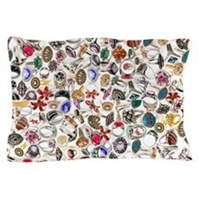 rings jewelry 2 Pillow Case