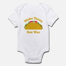 Make Tacos Not War Infant Bodysuit