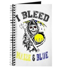 Cute Maize and blue Journal
