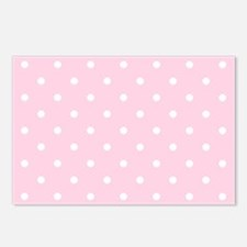Pink, Baby: Polka Dots Pa Postcards (Package of 8)