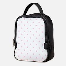 Pink, Baby: Polka Dots Pattern Neoprene Lunch Bag