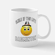 Badminton Cool Designs Mug