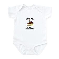 Kiss Me - It's My Birthday Infant Bodysuit