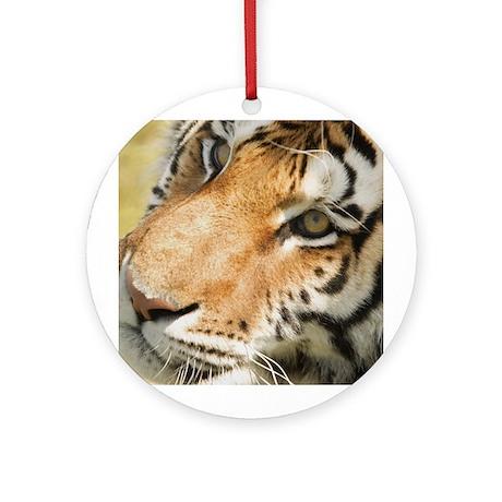 Tiger Porcelain Ornament