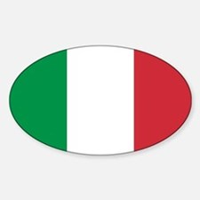 Authentic Italy national flag - SQ product Decal