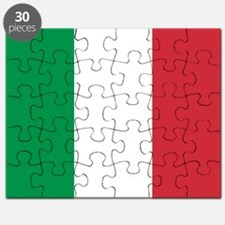 Authentic Italy national flag - SQ products Puzzle