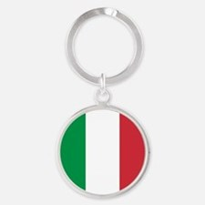 Authentic Italy national flag - SQ produ Keychains