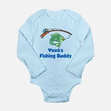 Vovo (Grandpa) Fishing Buddy Body Suit