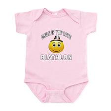 Biathlon Cool Designs Infant Bodysuit