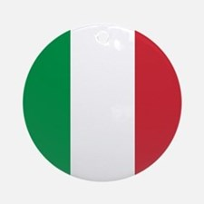 Authentic Italy national flag - S Ornament (Round)