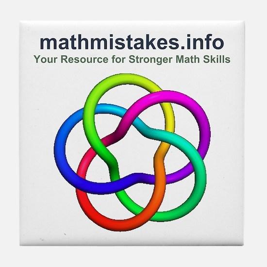 mathmistakes.info Tile Coaster
