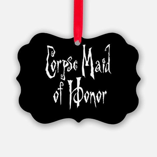 Corpse Maid of Honor Ornament