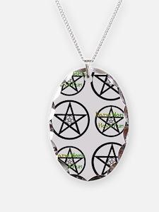 Unique Wiccan rede Necklace
