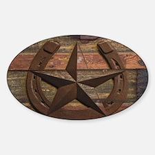 western horseshoe texas sta Decal