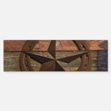 western horseshoe texas star Bumper Bumper Bumper Sticker