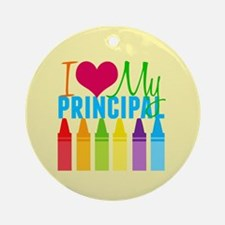 Best Principal Ornament (Round)