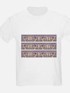 Art Nouveau Barn Owls T-Shirt