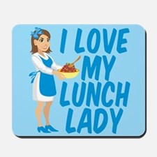 Lunch Lady Mousepad